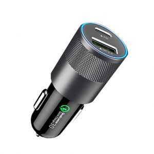 36W QC3.0 + PD Dual USB Car Charger