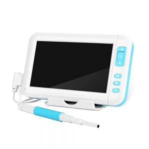 3.9mm Video Otoscope Camera 1080p Earwax Camera Digital Medical Endoscope Cleaning Tool with 4.3 Inch Screen HD Display