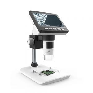 4.3 Inch 1080P HD Portable Desktop LCD Digital Microscope 1000X Magnifying Glass