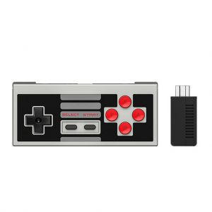 8Bitdo NES30 Classic Gaming Controller and Receiver Set