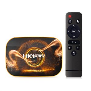 HK1 R1 Android 10.0 Smart TV Box RK3318 2.4/5G WiFi 4K Set Top Box -4G+128G