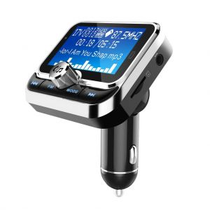 BC32 Car MP3 Music Player Bluetooth Hands-Free Dual USB Charger FM Transmitter