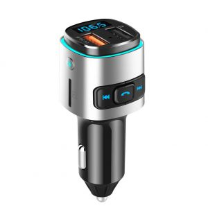 BC41 QC3.0 Car Charger Bluetooth MP3 Player FM Transmitter Dual USB Port