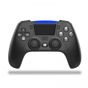 Bluetooth 4.0 Game Controller Dual Vibration Gamepad with Programmable Buttons