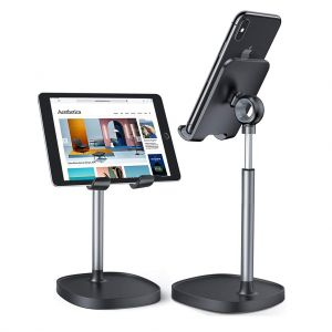 Cell Phone Stand Angle Height Adjustable Desktop Phone Tablet Dock Holder