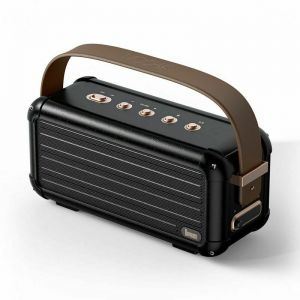 Divoom Mocha 40W Retro Wireless Bluetooth Speaker with Superior Bass