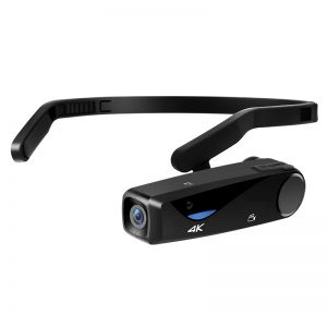 EP6 Head-Mounted 4K Camcorder Mini Video Camera with WiFi and Remote Control