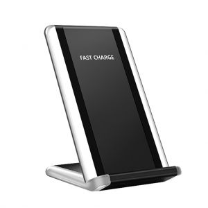 G400 Qi Wireless 10W Fast Charger Mobile Phone Stand for iPhone Samsung Huawei