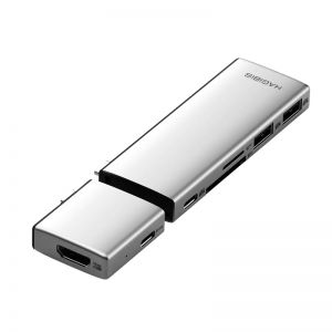 Hagibis MS2S USB-C Hub for MacBook Pro with SD/TF Card Reader