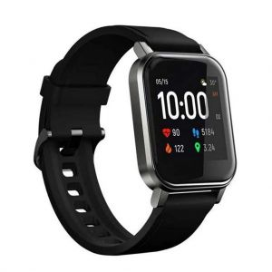 Haylou LS02 1.4 Inch LCD Screen Smart Watch Bluetooth 5.0 Smart Wristband - Global Version