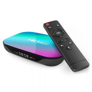 HK1 TV Box 4G+64G Android 9.0 with Remote Control
