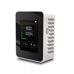 K03 Household CO2 Detector Air Quality Detector Temperature Humidity Tester Backlit LCD Display