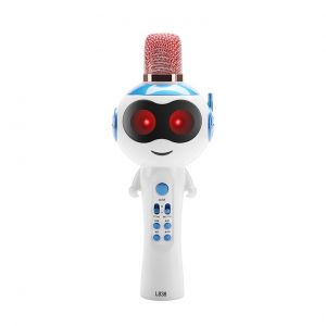 L838 Kids Multifunctional Wireless Microphone Handheld Karaoke Player Mic Speaker