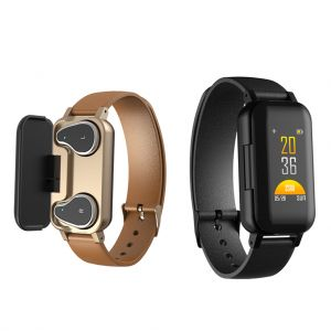 LEMFO T89 Smart Bracelet TWS Bluetooth Earphones