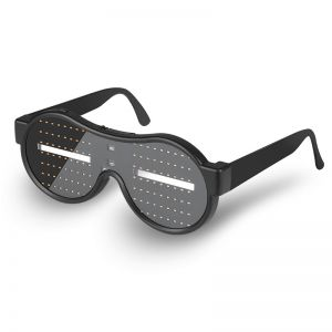 Light Up Eyeglasses 10 Modes Flashing Shutter Glowing Glasses for Party Christmas