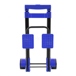 Compact Multi-Use Folding Luggage Cart - Blue