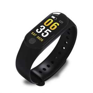 M3plus Smart Wristband Watch Band Fitness Tracker Heart Rate Blood Pressure Monitor IP67