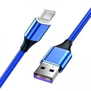 Magnetic USB Type C PD 5A Super Fast Charging Data Cable for Huawei Mate 20/P20/Samsung