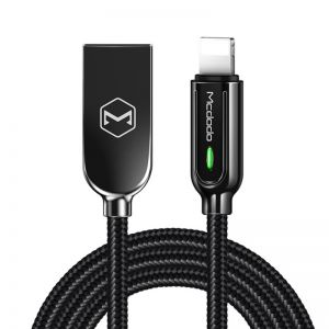 Mcdodo Lightning Charging Cable LED 2A for iPhone Fast Charging Auto Disconnect & Reconnect