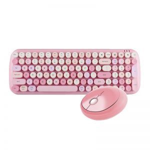 MOFII Candy Wireless Keyboard Mouse Set for Laptop Computer Mac