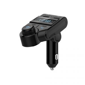 Morefine ELF Wireless in-Car Bluetooth FM Transmitter for Car Charger USB Radio AUX Adapter