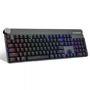 Motospeed GK81 Wired & 2.4G Mechanical Keyboard 104 Keys RGB LED Backlight Gaming Keyboard