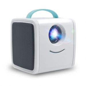 Q2 Kids Toy LED Projector Support 1080P