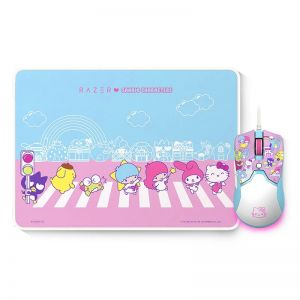 Razer I SANRIO Hello Kitty Limited Edition Wired Mouse and Mouse Pad Combo for Gaming and Office