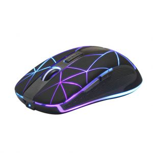 Rii RM200 2.4G Wireless Mouse 7 Breathing Colorful LED 1600DPI