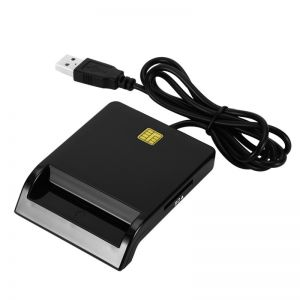 Smart Card Reader DOD Military USB Common Access for SD TF M2 MS
