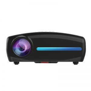 S4 Android 9.0 Smart LCD Projector Support 4K HDMI - 2GB+16GB