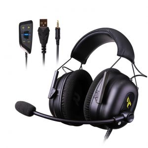Somic G936N USB + 3.5mm Gaming Headset Virtual 7.1 Surround Sound Headphone with Mic