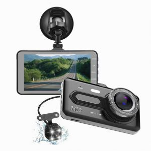T686 Driving Recorder 170° Dash Cam Car DVR Video Recorder Touch Screen Full HD 1080P