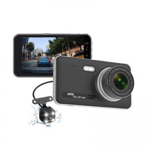 T689 4-Inch Driving Recorder 170° Dash Cam Car DVR Recorder Video Recorder Full HD 1080P