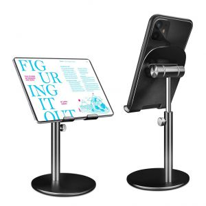 Telescopic Cellphone Stand Holder Multi Angle Adjustable Desktop Tablet Stand