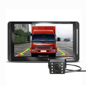 Truck Dash Cam DVR Driving Recorder Car Video Recorder 7'' Full HD 1080P 170° Wide Angle