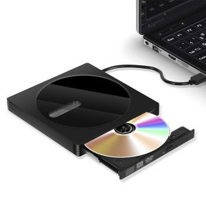 USB 3.0 Type C External CD DVD Drive ROM Rewriter Burner for Laptop Desktop
