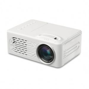 VEIDADZ 814 Mini 1080P LED Projector - Built-in 1000mAh Battery