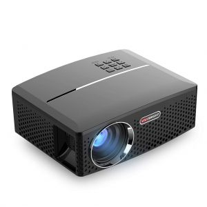 VIVIBRIGHT GP80 Mini LED Projector 1800 ANSI Lumens