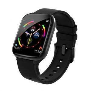 Waterproof Smart Watch Bracelet Band Full Screen Touch Heart Rate Blood Monitor TPU Band
