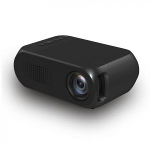 YG320 Mini LED Projector 1080P - 1300mAh Li-ion Battery